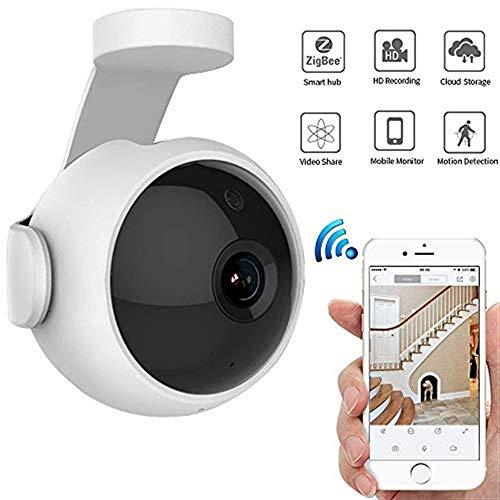 Lqqsxt Kamera Wireless-Kamera im Freien USB-Monitor HD Intelligentes Full Color Voice Intercom-Netzwerk WiFi 720P mit Nachtsicht-Bewegungserkennung für Windows, Andriod und I0S Wireless-usb-kamera Im Freien