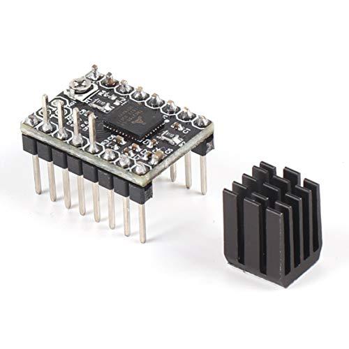 TMC2130 Schrittmotor StepStick Mute Driver Silent Excellent Ramps 1.4 1.5 1.6 Reprap Board 3D-Druckerzubehör - Schwarz