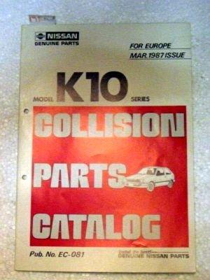 Series Parts Catalog Manual (Model K10 Series Collision Parts Catalog)