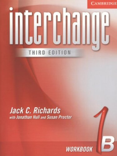 Interchange Workbook 1B by Jack C. Richards (2004-11-29)