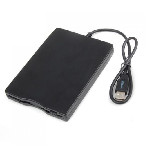 SODIAL (R) Dauerhafte USB 2.0 externe 3,5-Zoll-1,44-MB-Disketten