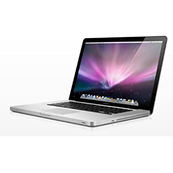 Apple MacBook Pro 15-inch Laptop (Intel Core i5 2.53 GHz, 4 GB RAM, 500 GB HDD, NVIDIA GeForce GT 330M with 256 MB, Intel HD Graphics, OS) - Silver - 2010 - MC372B/A - UK Keyboard
