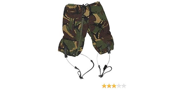 Ex Army Surplus Britannique Gortex DPM Guêtres//Wire Rope imperméable airsoft camo