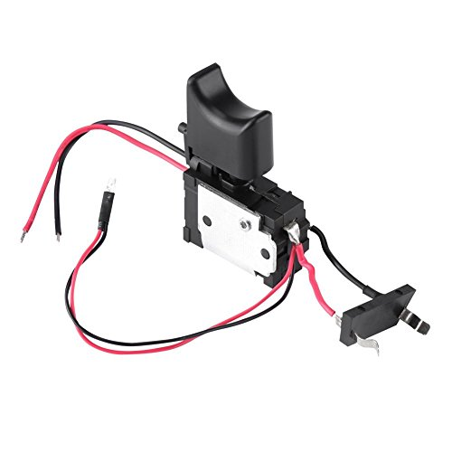 12V Interruptor de Gatillo Interruptor de Taladro Eléctrico Inalámbrico Control de Velocidad...