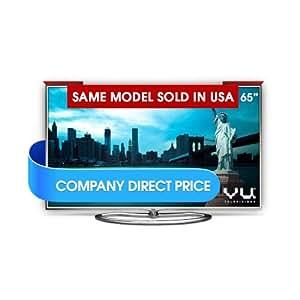 Vu 163cm 65 inches Ultra HD (4K) 3D Wi-Fi Smart LED TV UHD (LTDN65XT780XWAU3D, 4 x HDMI, 3 x USB)