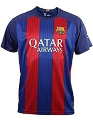 FC BARCELONA- Camiseta 1ª Equipación Adulto 2016-2017, Réplica Oficial MESSI- Talla XXL