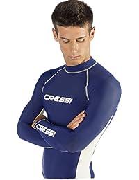 Cressi Herren Rashguard für Schwimmen, Surfen, Tauchen mit Sonne Schutz | Lange Ärmel Rash Guard: Qualität seit 1946