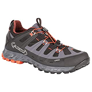 Aku Selvatica GTX Walking Shoes UK 12 Black Red