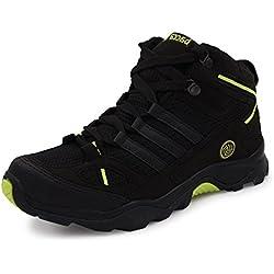 Bacca Bucci Men Black PU Hiking Shoes 08 UK