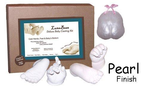 Casting Keepsakes Luna Bean Deluxe Baby Casting Kit