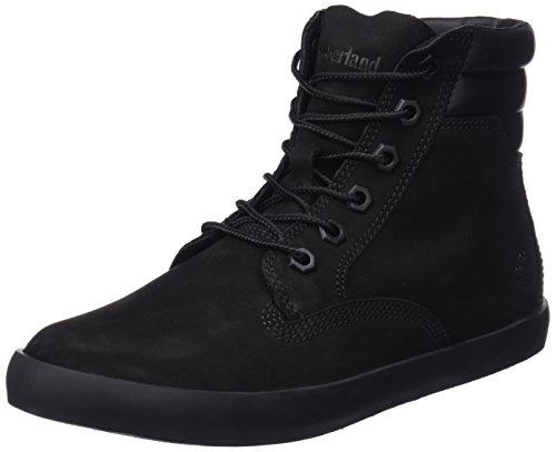 Timberland Damen Dausette Sneaker Boot Stiefeletten, Schwarz (Black Nubuck), 39 EU