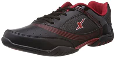 Sparx Men's Black and Red Running Shoes - 6 UK (SM-186)