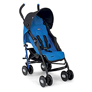 Chicco Echo Stroller, Power Blue Bumbleride  7