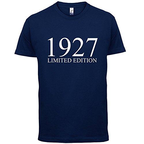 1927 Limierte Auflage / Limited Edition - 90. Geburtstag - Herren T-Shirt - 13 Farben Navy
