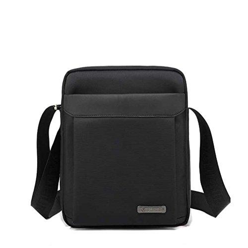 Executive Attache Aktenkoffer (Männer an der Schulter Crossbody Taschen männlich Jahrgang Executive Aktenkoffer Taschen für Dokumente Männer kleine Casual Business Messenger Bag)