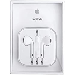 Original EarPods Auriculares Md827ZM / Una para iPhone 5, 5c, 5s, 6, plus 6, iPad 5 Air Mini iPod Toque Clásico Nano-estéreo Auriculares con mando A distancia Control y Micrófono vitho Paño De Pulido - Embalaje Original