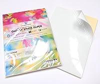 Caractéristiques principales : Papier blanc auto-adhésif à étiquettes A4 pour imprimante laser/à jet d'encre. Ce matériau a une finition mate, idéale pour l'impression de photos/d'images, ainsi que pour l'écriture. Ce papier de qualité offre une réso...