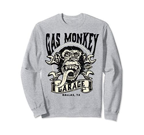 Gas Monkey Garage Tattoo Style Logo Sweatshirt -