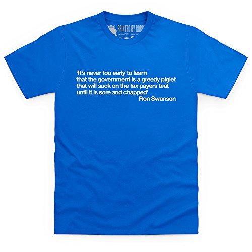 Sore and Chapped T-Shirt, Herren Royalblau