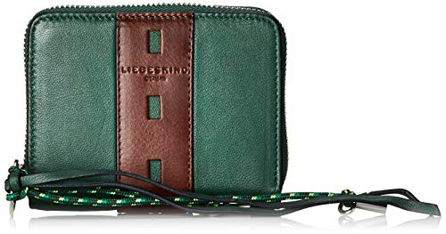 Liebeskind Berlin Damen Dive Bag Conny Wallet Medium Geldbörse, Grün (Dark Green), 2.0x10.0x13.0 cm -