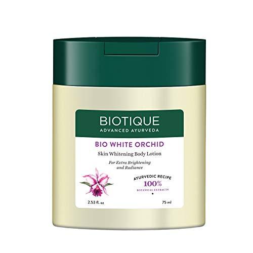 Biotique Bio White Orchid Skin Whitening Body Lotion, 75 ml
