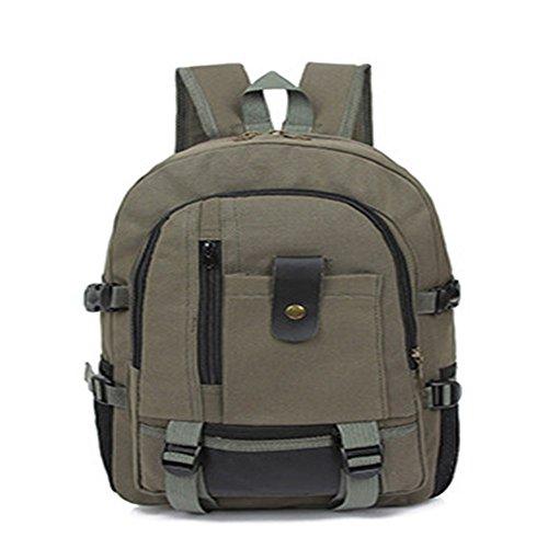 gli studenti della scuola superiore di borsa, nuovo stile scuola vento, borsa borsa da viaggio, uomini 'una tela.,black verde dell'esercito