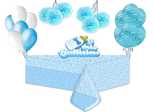 Magic Party Set decorazioni Battesimo Celeste Addobbi