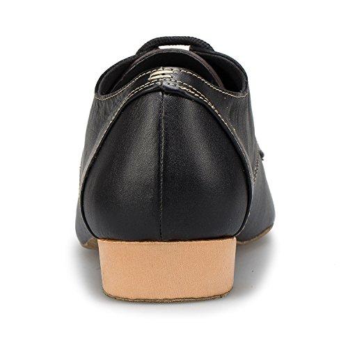 Miyoopark ,  Herren Tanzschuhe Black-2.5cm heel