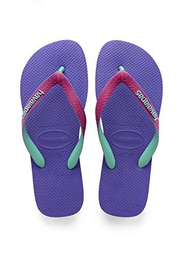 Havaianas Tongs Homme / Femme Top Mix Violet (violet / Rose Framboise)
