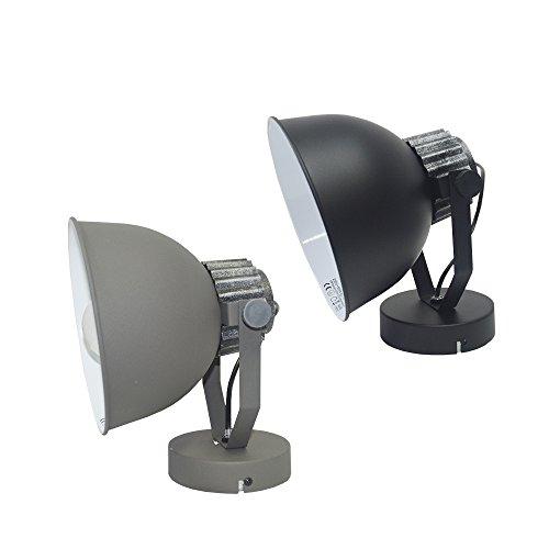 Retro Wandleuchte Industriedesign Lampe Wandlampe Max. 40 Watt E27 Anthrazit