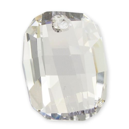 Swarovski Graphic Anhänger 6685 19mm Crystal Silver Shade x1 -
