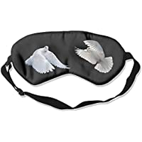 Eye Mask Eyeshade Doves Black Background Sleeping Mask Blindfold Eyepatch Adjustable Head Strap preisvergleich bei billige-tabletten.eu