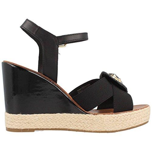 Tommy Hilfiger E1285LENA 14D Black, Damen sandalen, Schwarz 990 Black