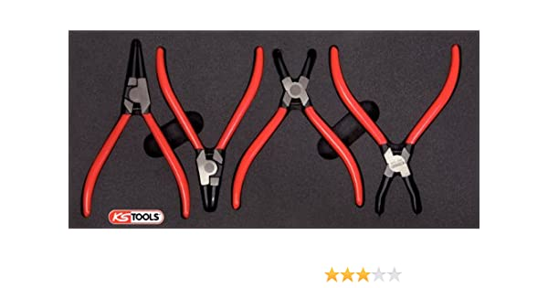 Ks Tools 8152353 Module Pinces Circlips 4pcs