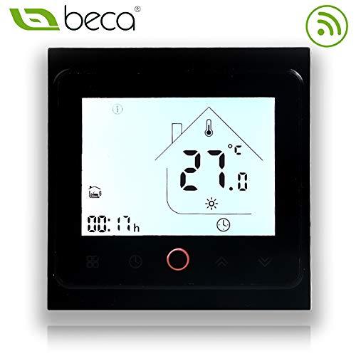 BECA 002 Serie 3 / 16A Pantalla táctil LCD Agua/Calefacción eléctrica/Caldera Termostato...