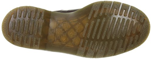 Dr.Martens Mens 5-Eyelet Church Monkey Leather Boots Brun Foncé