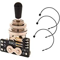 EMG 3-way B289 Toggle switch - black knob