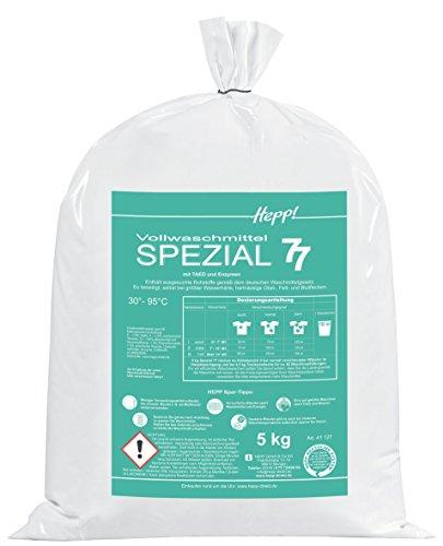Hepp GmbH & Co KG - Spezial 77 Vollwaschmittel Pulverkonzentrat 10 kg Beutel 164 WL