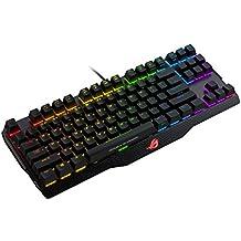 Asus ROG Claymore Core - Teclado gaming mecánico RGB con interruptores Cherry MX, teclas programables