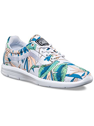 Vans Iso 1.5 Tropical Leaves Sneaker Damen weiß / bunt