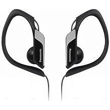 Panasonic RP-HS34E-K - Auriculares de clip (3.5 mm), color negro y gris