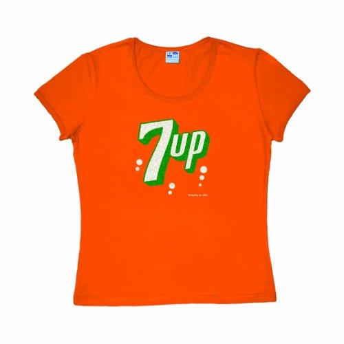 t-shirt-donna-7up-luccichio-pepsi-cult-maglietta-girocollo-di-logoshirt-arancione-design-originale-c