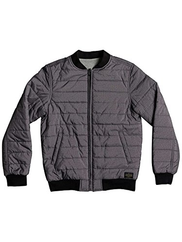 Quiksilver Jungen Darkfieldyouth B Kvj0 Jacket, Anthracite/Solid, L/14