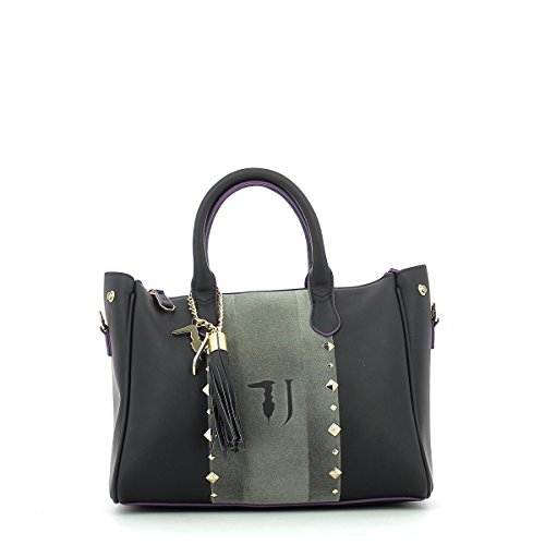 Trussardi Jeans Blondie Ecoleather Stud Tote Medium Bag Sac à main 30 cm