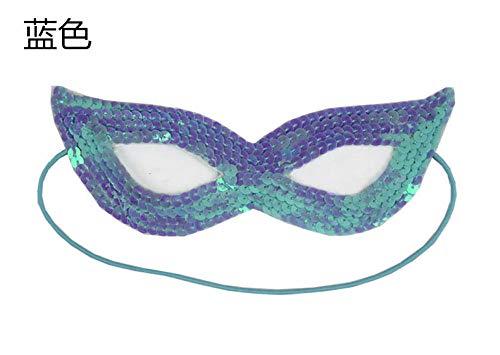 TANJINLOU Halloween Maske _ Temple Fair Booth Toy Kindermaske Geburtstagskind Feder Halloween (Fair Toy)