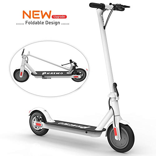 Scooter eléctrico para adultos - Plegable E Scooter Ligero Kick Scooter plegable de 250 vatios sin escobillas, 36V 6A de...