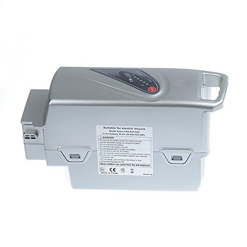 Vinteky 20.8Ah 26V Batterie pour e bike Vélo électrique pour Panasonic 26V(Raleigh, Kalkhoff, flyer, Kettler& Rixe)