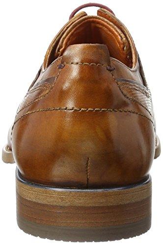 Bugatti 312193061100, Derby Homme Marron (Cognac 6300)