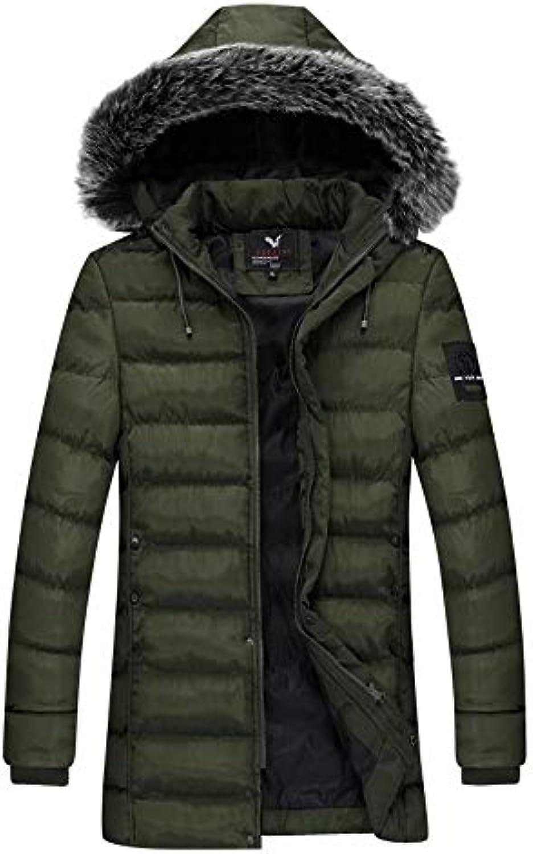 ... Giubbotto Uomo ASHOP Cappotto Lungo Inverno Trench Coat Maniche Maniche  Maniche Lunghe Moda Stampa Casual Slim 4765b86990e