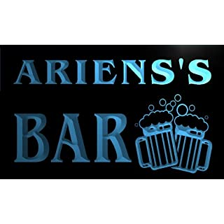 w149358-b ARIENS Name Home Bar Pub Beer Mugs Cheers Neon Light Sign